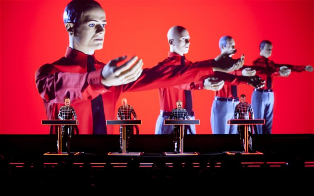 Kraftwerk performing their retrospective at MOMA Photo: ©BOETTCHER